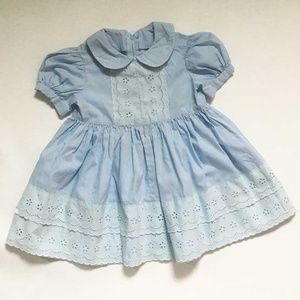 Other - Vintage Baby Blue Dress from 1984